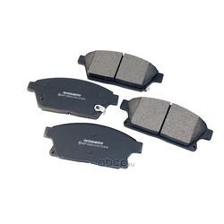Дисковые тормозные колодки (Friction Master) MKD1470