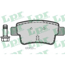 Комплект тормозных колодок, дисковый тормоз (Lpr) 05P1224