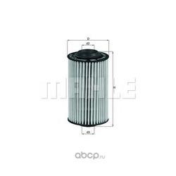 Масляный фильтр (Mahle/Knecht) OX399D