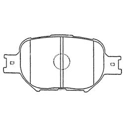 Колодки тормозные дисковые (FIT) FP0817
