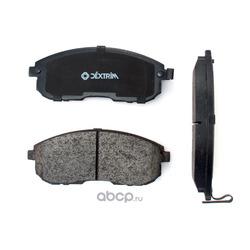 Колодки тормозные передние (Dextrim) DX7FD018