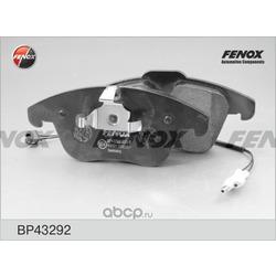 Комплект тормозных колодок, дисковый тормоз (FENOX) BP43292