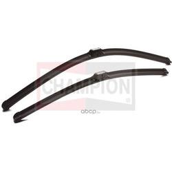 Щётки стеклоочистителя Aerovantage Flat Blade Kit, бескаркасные 750мм, комплект 2шт (Champion) AFU7575AC02