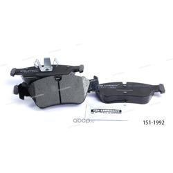 Тормозные колодки дисковые передние (Ween) 1511992