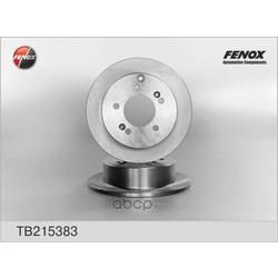 Диск тормозной задний (FENOX) TB215383