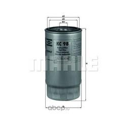 Топливный фильтр (Mahle/Knecht) KC98