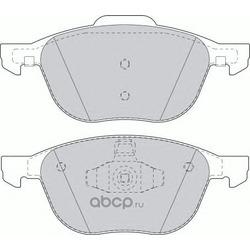 Комплект тормозных колодок, дисковый тормоз (Remsa) 108200
