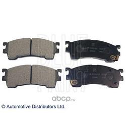 Комплект тормозных колодок, дисковый тормоз (Blue Print) ADM54250