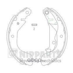 Комплект тормозных колодок (Nipparts) J3500907