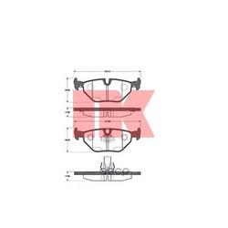 Комплект тормозных колодок, дисковый тормоз (Nk) 221520