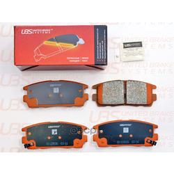 Колодки тормозные дисковые | зад | (UBS) B1103030