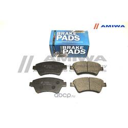 КОЛОДКИ ТОРМОЗНЫЕ ДИСКОВЫЕ ПЕРЕДНИЕ (Amiwa) CD01552