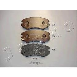 Комплект тормозных колодок, дисковый тормоз (JAPKO) 50H10