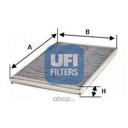 Фильтр, воздух во внутренном пространстве (UFI) 5412800