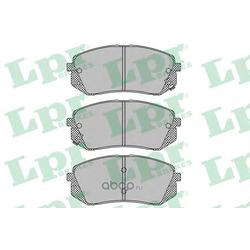 Комплект тормозных колодок, дисковый тормоз (Lpr) 05P1415