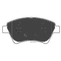 Комплект тормозных колодок, дисковый тормоз (Mapco) 6609