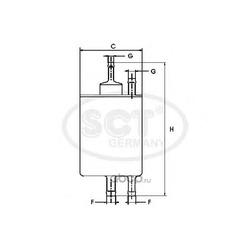 Топливный фильтр (SCT) ST800