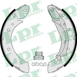 Комплект тормозных колодок (Lpr) 07165
