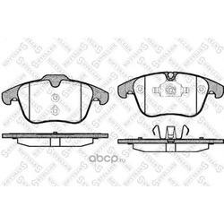 Комплект тормозных колодок, дисковый тормоз (Stellox) 001088BSX