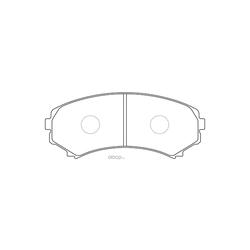 Колодки тормозные дисковые (FIT) FP0867
