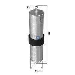 Топливный фильтр (UFI) 3183900