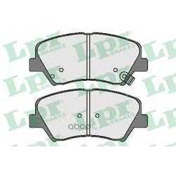Комплект тормозных колодок (Lpr) 05P1744