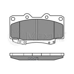 Комплект тормозных колодок, дисковый тормоз (Meyle) 0252167915W