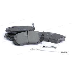 Тормозные колодки дисковые передние (Ween) 1512691