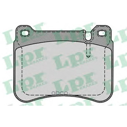 Комплект тормозных колодок, дисковый тормоз (Lpr) 05P1276