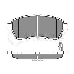 Комплект тормозных колодок, дисковый тормоз (Meyle) 0252428316W