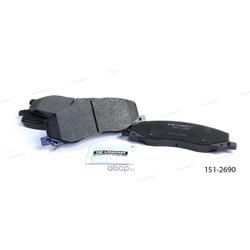 Тормозные колодки дисковые передние (Ween) 1512690