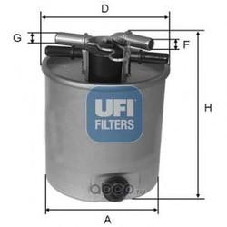 Топливный фильтр (UFI) 2402601