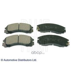 Колодки тормозные дисковые, комплект (Blue Print) ADC44250
