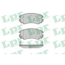 Комплект тормозных колодок, дисковый тормоз (Lpr) 05P1369