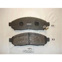 Комплект тормозных колодок, дисковый тормоз (Ashika) 5001121