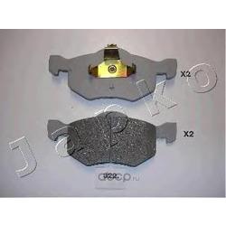 Комплект тормозных колодок, дисковый тормоз (JAPKO) 50322