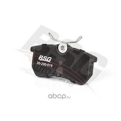 Комплект тормозных колодок, дисковый тормоз (BSG) BSG30200019