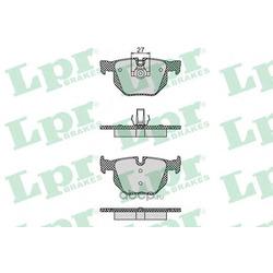 Комплект тормозных колодок, дисковый тормоз (Lpr) 05P1194