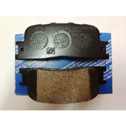 Колодки тормозные дисковые, комплект (Kashiyama) D2219