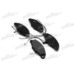 Колодки тормозные дисковые передн CITROEN: XANTIA 97-98, XANTIA 98-03, XANTIA Break 98-03, XM 94-00, XM Break 94-00 (PATRON) PBP1114