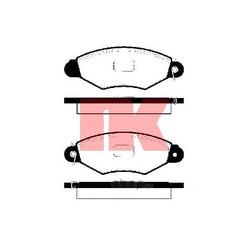 Комплект тормозных колодок, дисковый тормоз (Nk) 223938