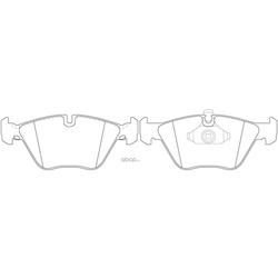 Колодки тормозные дисковые (FIT) FP0946
