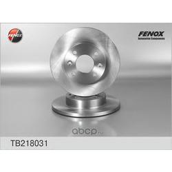 ДИСК ТОРМОЗНОЙ FENOX (FENOX) TB218031