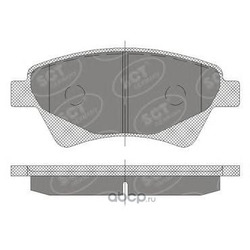 Колодки торм.FR (SCT) SP408