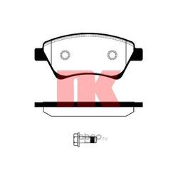 Комплект тормозных колодок, дисковый тормоз (Nk) 223951