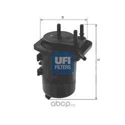 Топливный фильтр (UFI) 2401300