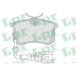 Комплект тормозных колодок, дисковый тормоз (Lpr) 05P853
