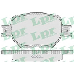 Комплект тормозных колодок, дисковый тормоз (Lpr) 05P837