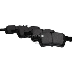 Комплект тормозных колодок, дисковый тормоз (JP Group) 1563701510