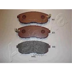 Комплект тормозных колодок, дисковый тормоз (Ashika) 5001143